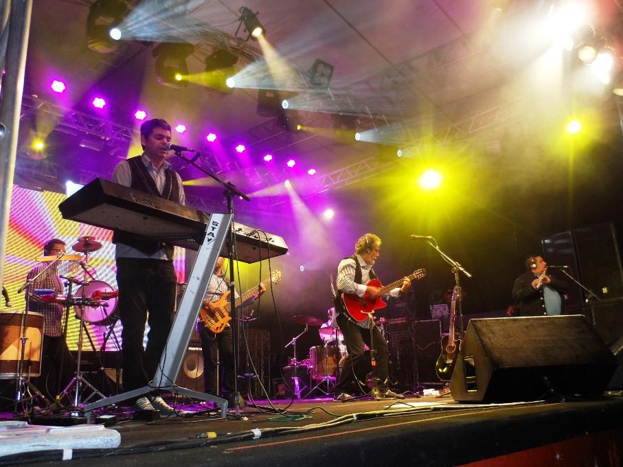 O Quinteto Violado cantou sucessos memoráveis do rei do baião
