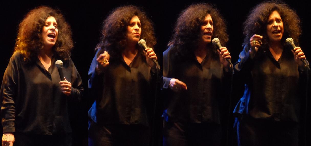 Gal Costa foi responsável por um dos shows mais emocionantes, fazendo o público cantar com ela