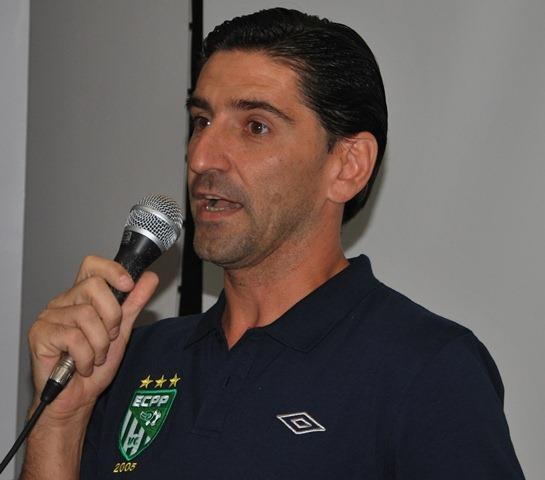 Fábio Giuntini assumiu o comando do ECPP