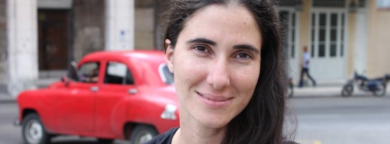 Primeiro compromisso da cubana Yoani Sánchez será em Conquista