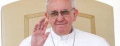 Em julho, Papa Francisco passa sete dias no Brasil