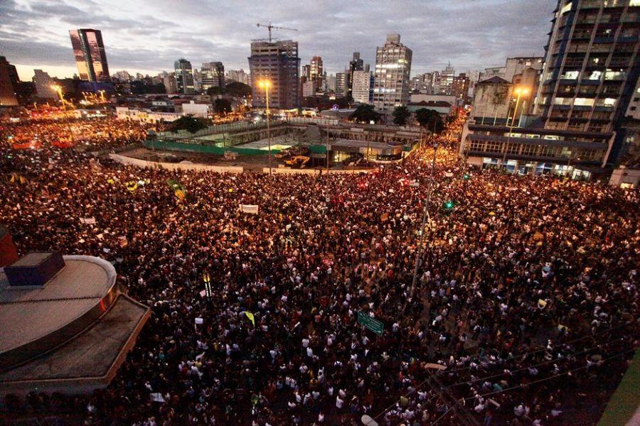 PROTESTO AUMENTO PASSAGENS/SÃO PAULO