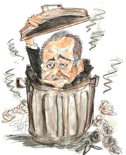 A dúvida cruel de de Renan Calheiros:  - Para me livrar do juiz Sérgio Moro o que faço eu? Corro pro mato ou corro pro morro? Ou mato ou morro...