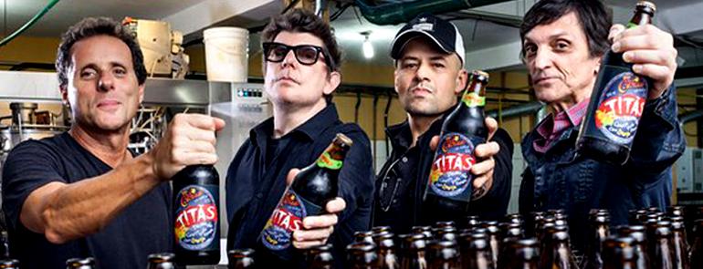Novo lançamento dos Titãs: cerveja