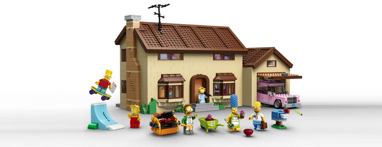 Para brincar com a casa dos Simpsons
