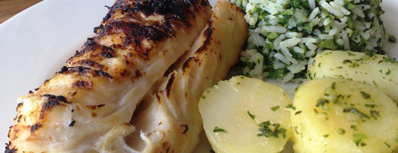 Experimente: churrasco de bacalhau