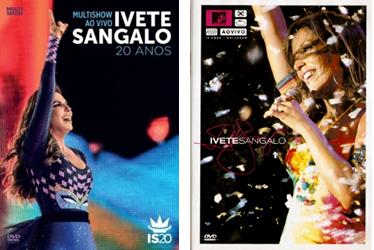 A capa do novo DVD e do gravado há 10, também na Fonte Nova