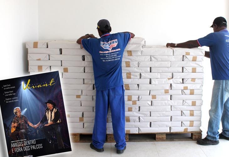 A revista Vivant foi lançada com 10 mil exemplares