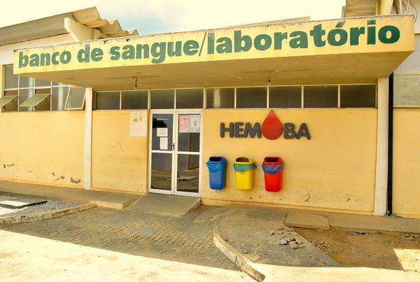 O Hemoba de Conquista funciona no Hospital Geral da cidade