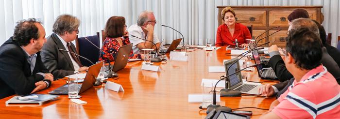 Dilma e a Nova Mídia: assista à entrevista