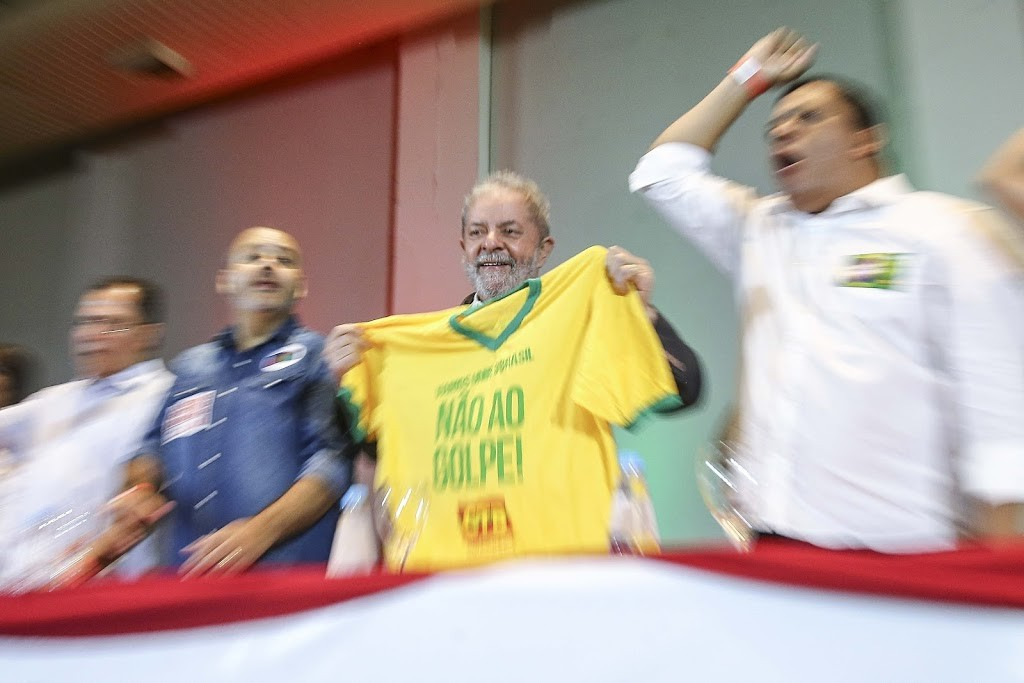 Ex-PR Lula e SINDICALISTAS 06
