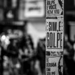 #ForaTemer: Conquista é contra o golpe